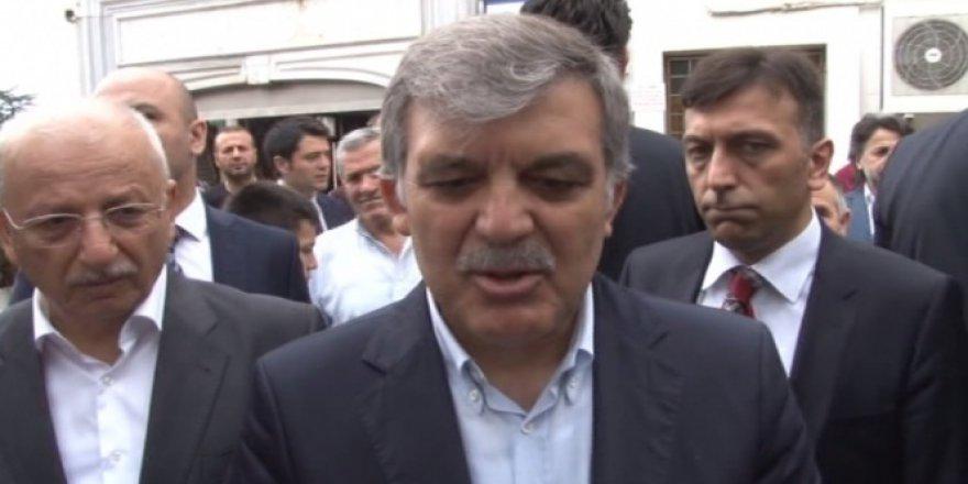 Abdullah Gül'den Süikast Açıklaması