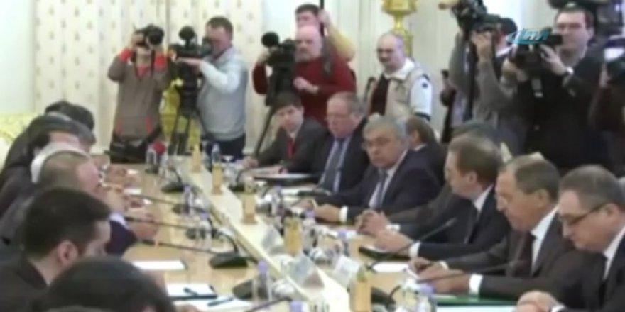 Rusya'da üçlü Suriye toplantısı gerçekleşti
