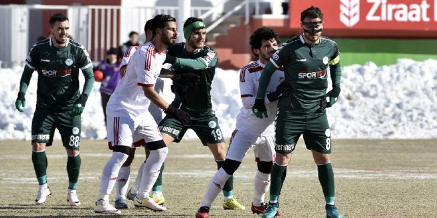 Gümüşhanespor 1-1 Atiker Konyaspor