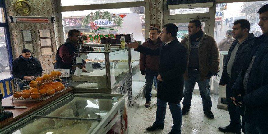 Kaymakam Hacı Arslan Uzan'dan Esnaf Ziyareti