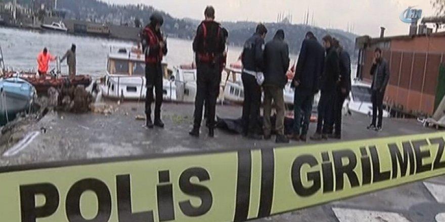 Beşiktaş Kuruçeşme Sahilinde Ceset Bulundu