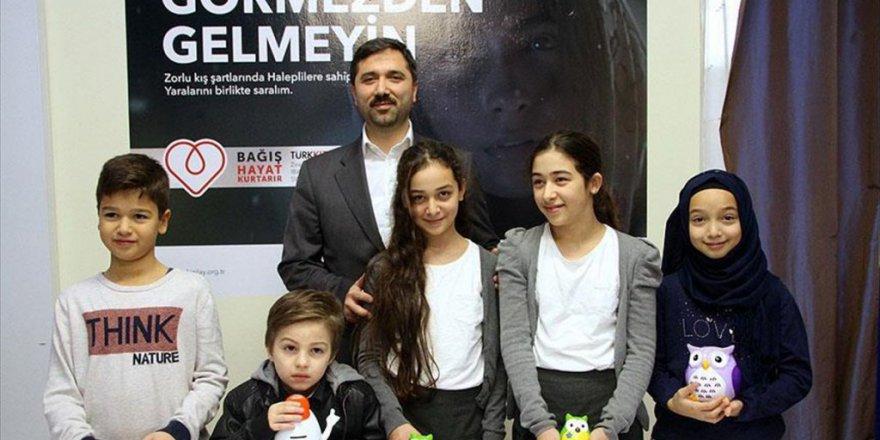 Almanya Köln'de Çocuklardan Halep'e yardım eli