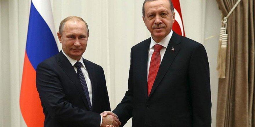 Erdoğan ve Putin telefon görüşmesi gerçekleştirdi