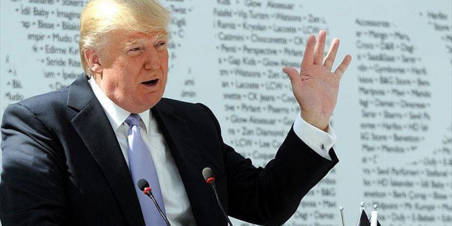 Trump Gösterilerle İlgili kısa bir açıklama yaptı