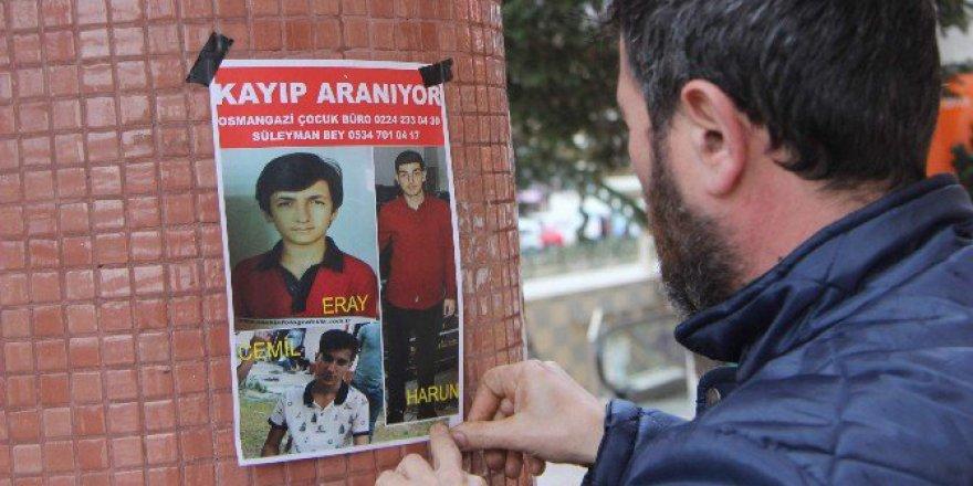 Bursa'da Görülen Kayıp 3 Çocuk Antalya'da Bulundu