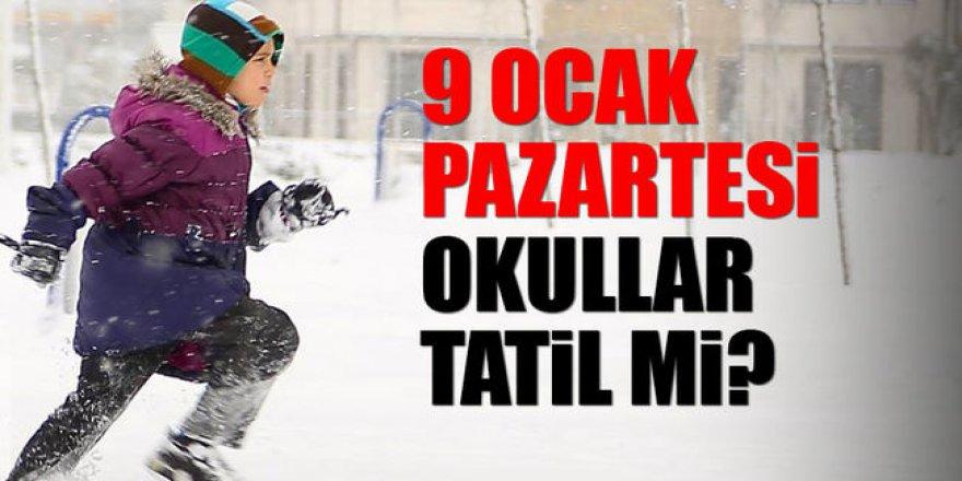 Pazartesi İstanbul'da okullar tatil mi?