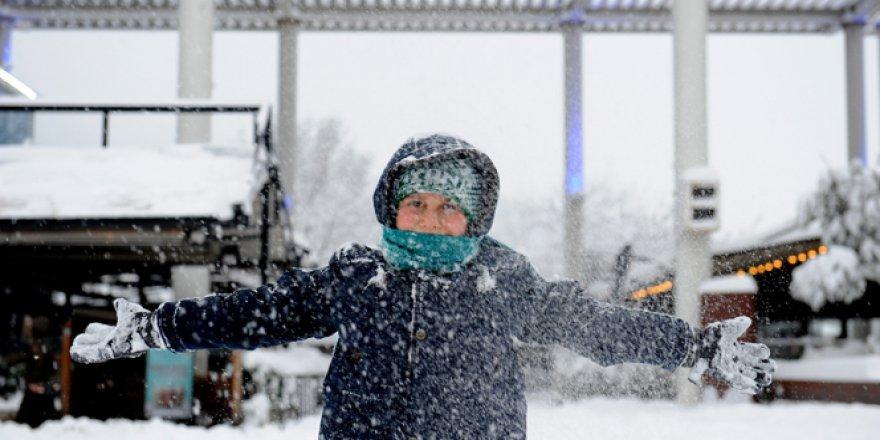 Bursa'da Pazartesi günü Okullara Kar Tatili