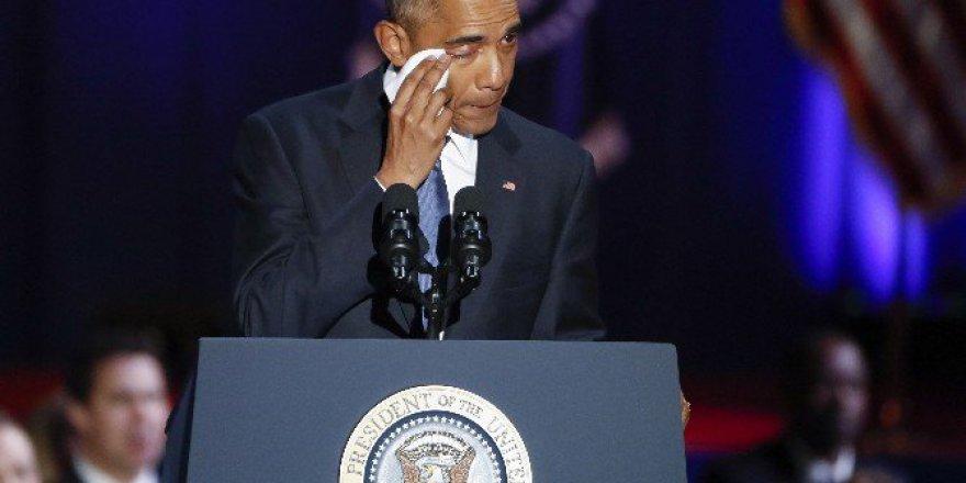 Barack Obama'dan Gözyaşları İçinde Veda Konuşması