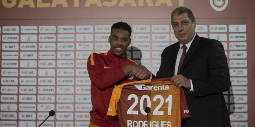 Galatasaray'ın Yeni Transferi Rodrigues konuştu