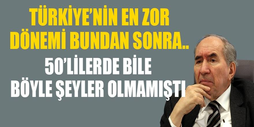 Eski CHP lideri Altan Öymen'den Çarpıcı uyarılar