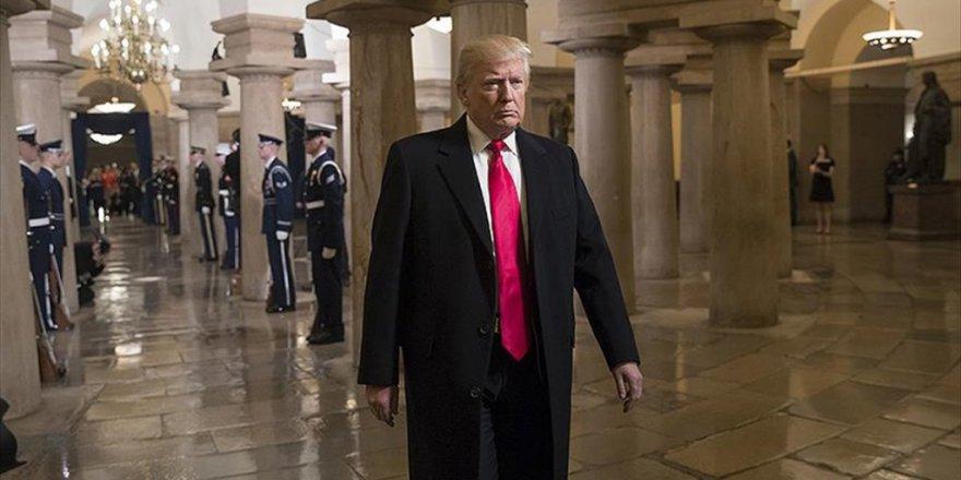 Trump'ın İlk Ziyareti Cıa Merkezine oldu
