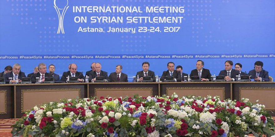 Astana'daki Suriye Görüşmelerinin İlk Günü Sona Erdi