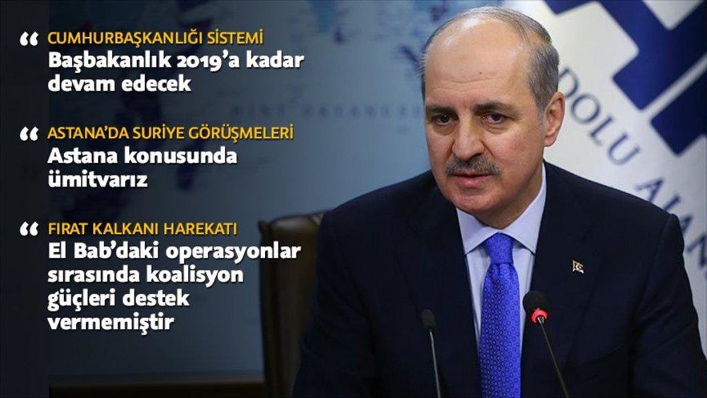 Kurtulmuş'tan MHP ile ortaklık iddiasına yalanlama
