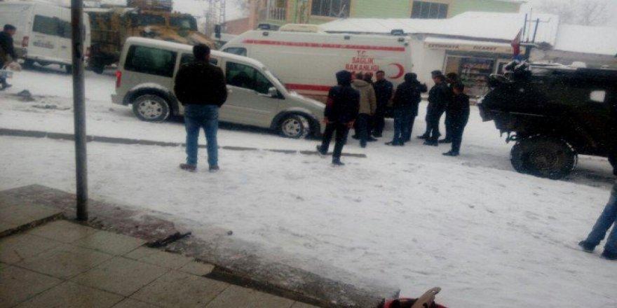 Hakkari Çukurca'da trafik kazası