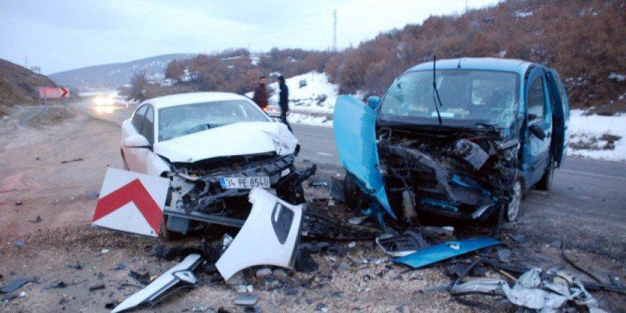 Tokat Niksar yolunda Trafik Kazası: 9 Yaralı