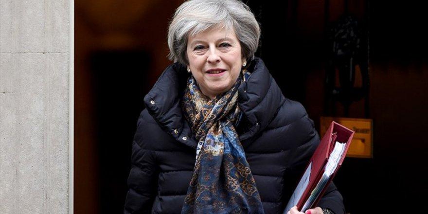Birleşik Krallık Başbakanı May Yarın Türkiye'yi ziyaret edecek