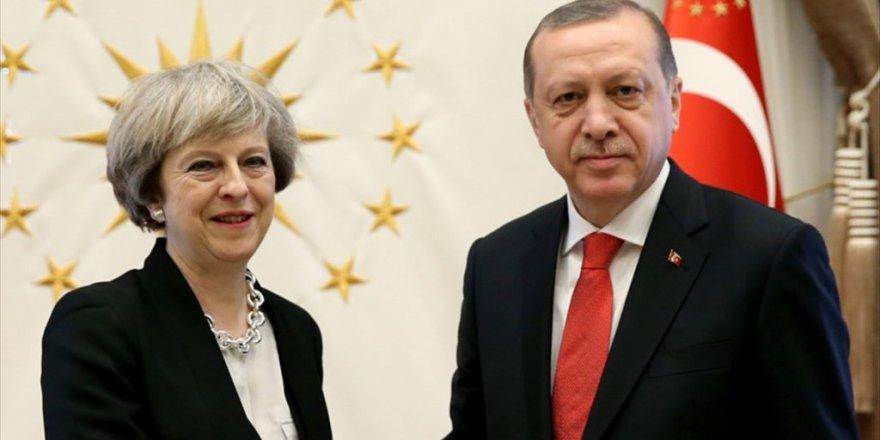 Erdoğan - May görüşmesinde gündem Suriye