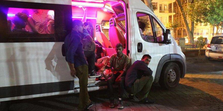 276 Kaçak Göçmen Silivri'de Yakalandı