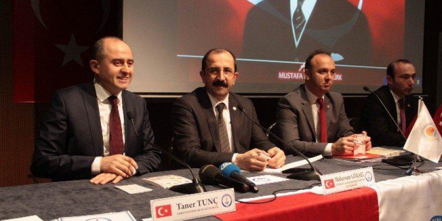 """Samsun'da Aydınlar Ocağı """"Teröre Karşı Milli Birlik"""" Paneli düzenledi"""