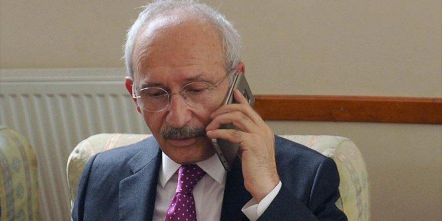 Kılıçdaroğlu'ndan Saffet Sancaklı'ya Taziye Telefonu