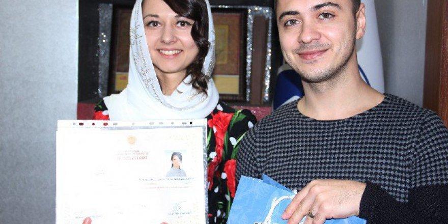 Ukraynalı Gelin Inna Besborodova Müslüman Oldu