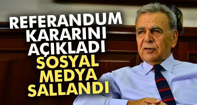 İzmir Büyükşehir Belediye Başkanı Kocaoğlu Oyunun Rengini Belli Etti