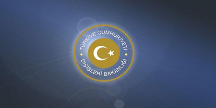 Türkiye Dışişleri'nden Yunanistan'a Uyarı