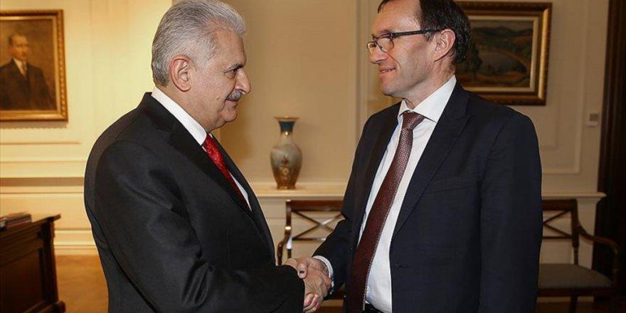 Başbakan Yıldırım, Kıbrıs Özel Temsilcisi Espen Barth Eide'yi Kabul Etti