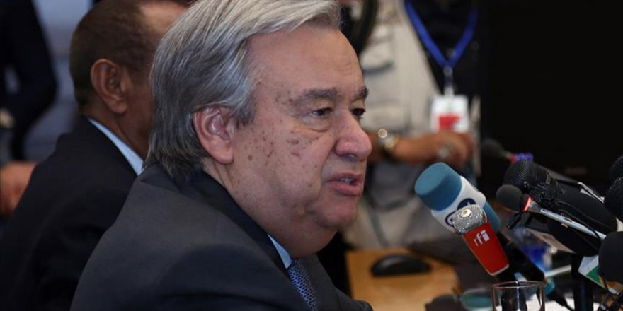 BM Genel Sekreteri Guterres'den İsrail'e Uyarı