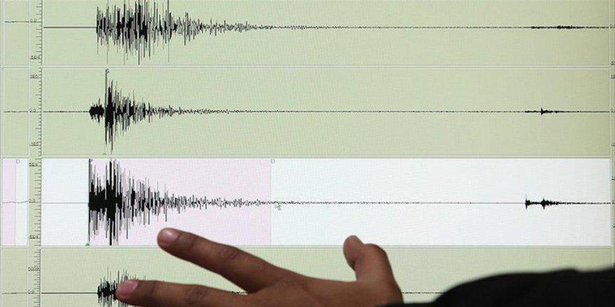 Çanakkale'de Gece Yarısı Deprem!