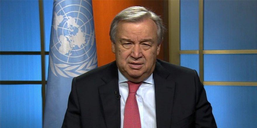 Antonio Guterres: ''Türk Hükümeti ve Türk Halkına Müteşekkirim''