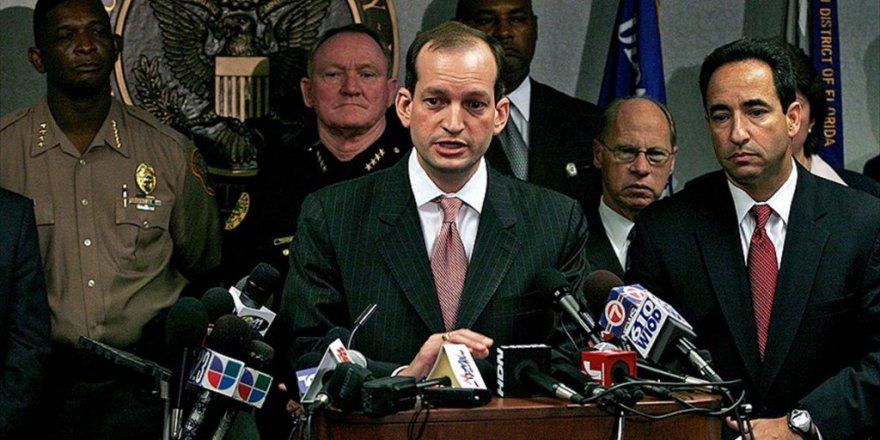 ABD'nin Yeni Çalışma Bakanı Alexander Acosta oldu