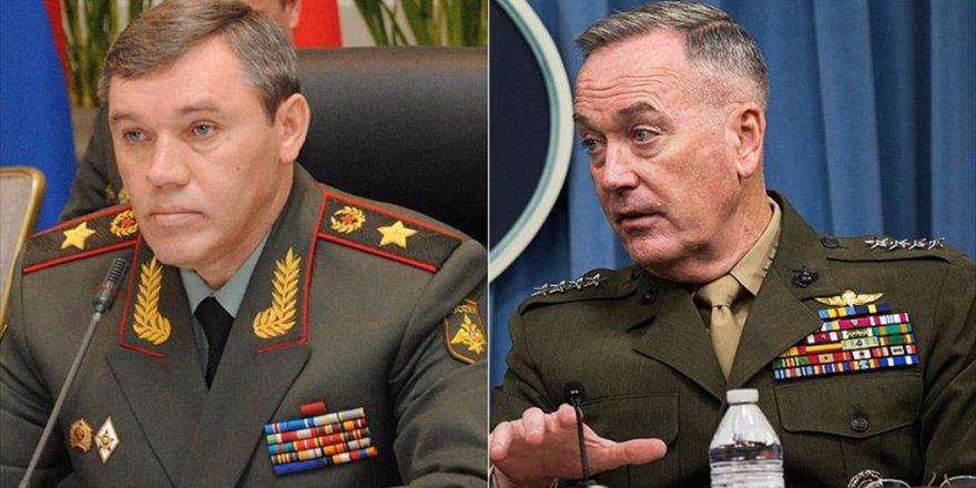 ABD ve Rusya'dan Flaş Askeri temas