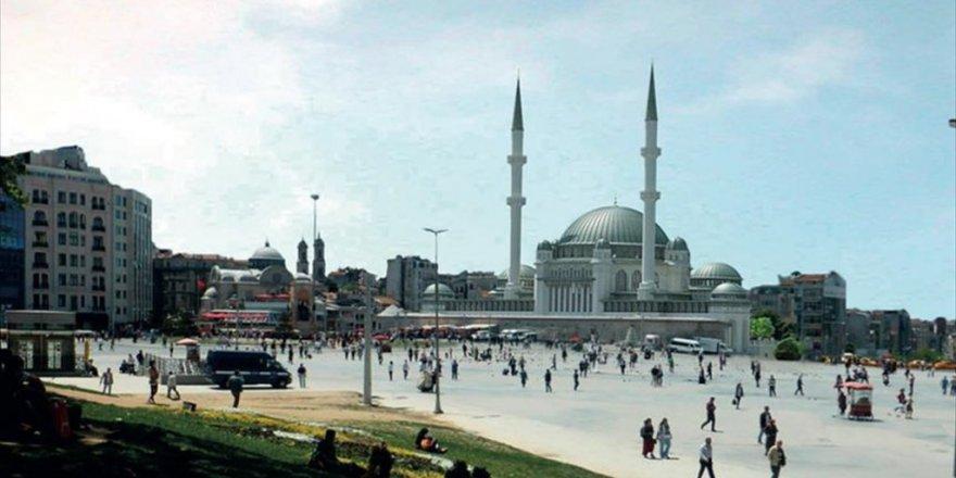 Taksim Camisi İçin İlk kazma