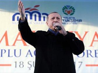 Erdoğan Malatya'da Yeni sistemi anlattı