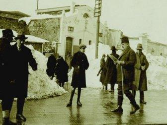 İstanbul'dan eski kış manzaraları
