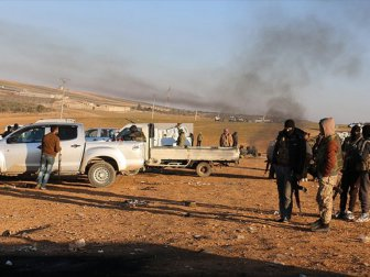 Tsk Destekli Öso Birliklerinin Bab'da İlerliyor