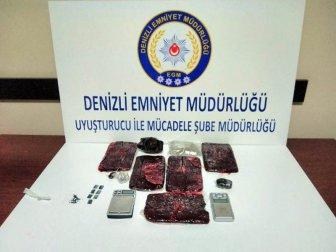 Denizli İl Emniyetinden Uyuşturucu Operasyonu: 8 Tutuklama