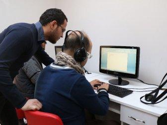 Antalya Büyükşehir Belediyesi, Engelli Danışma Merkezi'nde Sesli Kütüphane İle Okumaya Engel Yok