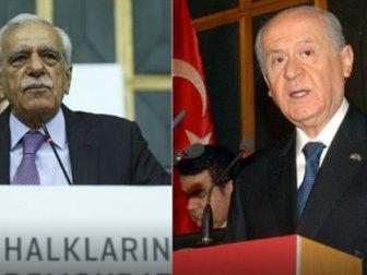 Ahmet Türk ve Bahçeli'den Flaş görüşme