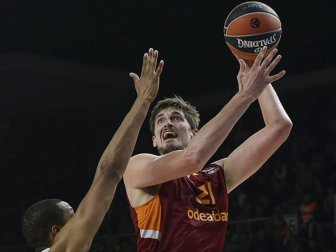 Basketbol THY Avrupa Ligi, Galatasaray Odeabank 87-84 Real Madrid