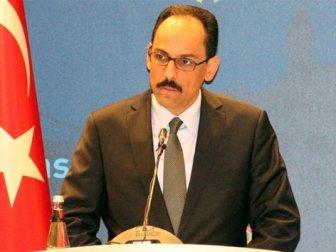 Cumhurbaşkanı Sözcüsü İbrahim Kalın'dan Almanya'ya Tepki