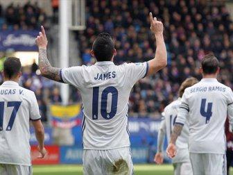 La Liga, Real Madrid 4-1 Eibar