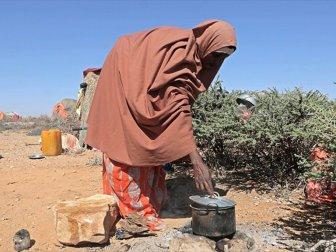 Somali'nin Bay Bölgesinde Son 2 Günde 110 Kişi Açlıktan Öldü