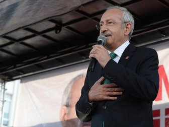 CHP Lideri Kılıçdaroğlu İlk Mitingini Amasya'da Yapacak