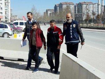 Konya'da 2 Kişiyi Silahla Yaralayan Şahıslar Adliyeye Sevk Edildi