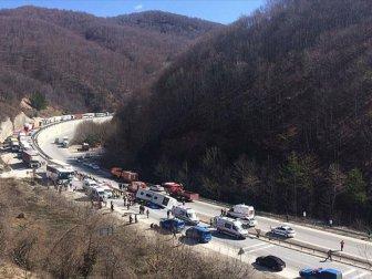 Bursa - Ankara yolunda otubüs kazası ; 7 Ölü 33 yaralı
