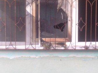 Uşak'ta Öfkeli Damat Kayınpederinin Evine Molotof Attı