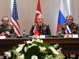 TSK'dan Suriye ve Irak Zirvesi Açıklaması