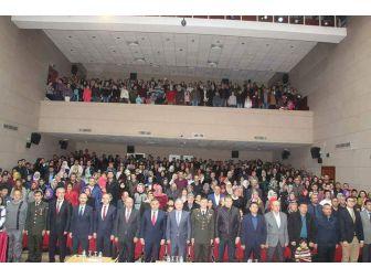 Develi'de Şair Mehmet Akif Ersoy İçin Anma Töreni Düzenlendi